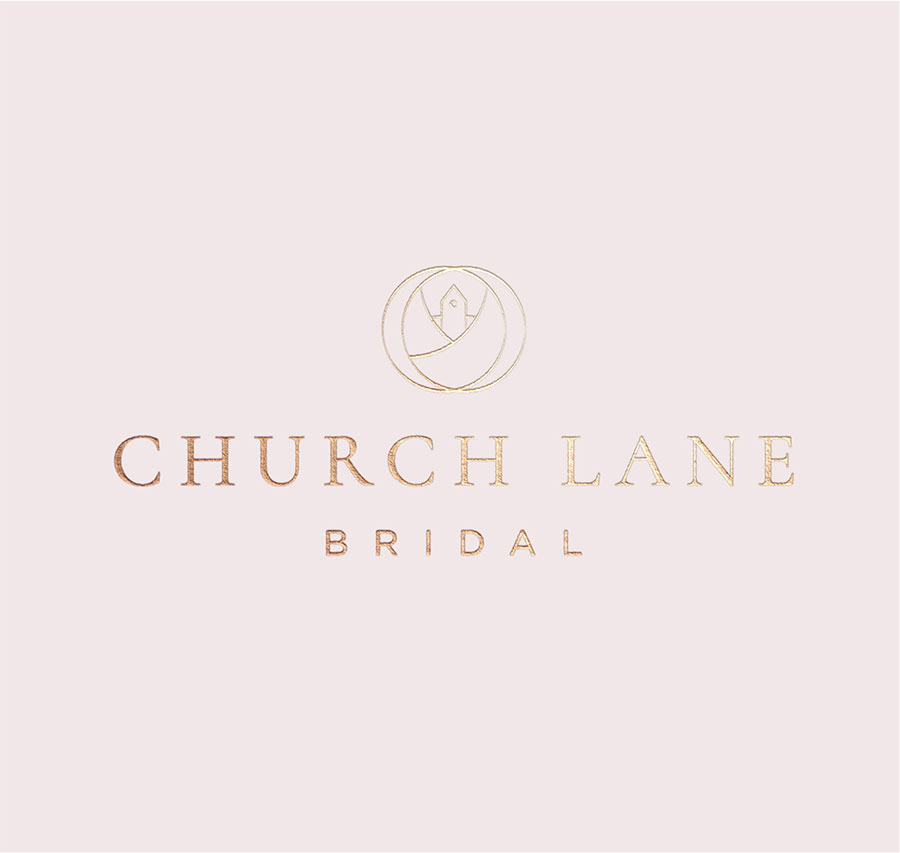 Church Lane Bridal logo design