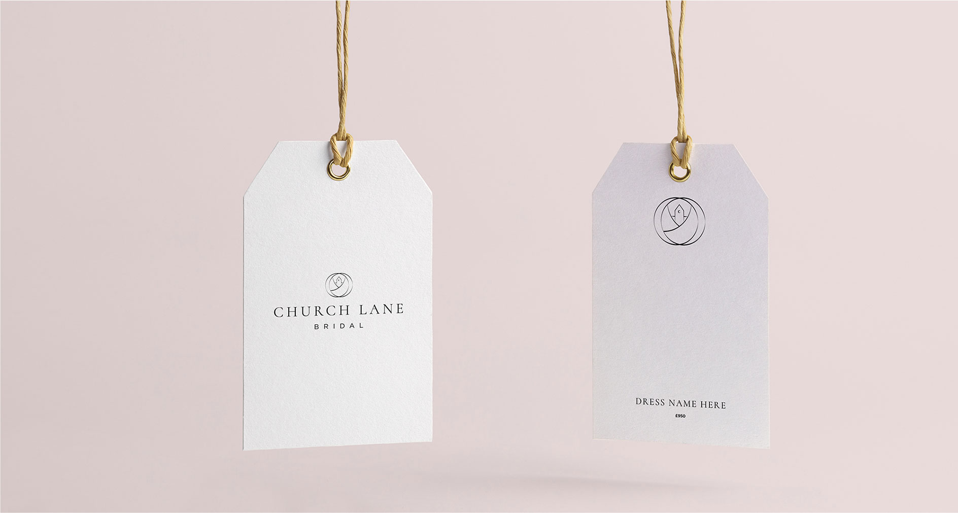 Church Lane Bridal branding labels