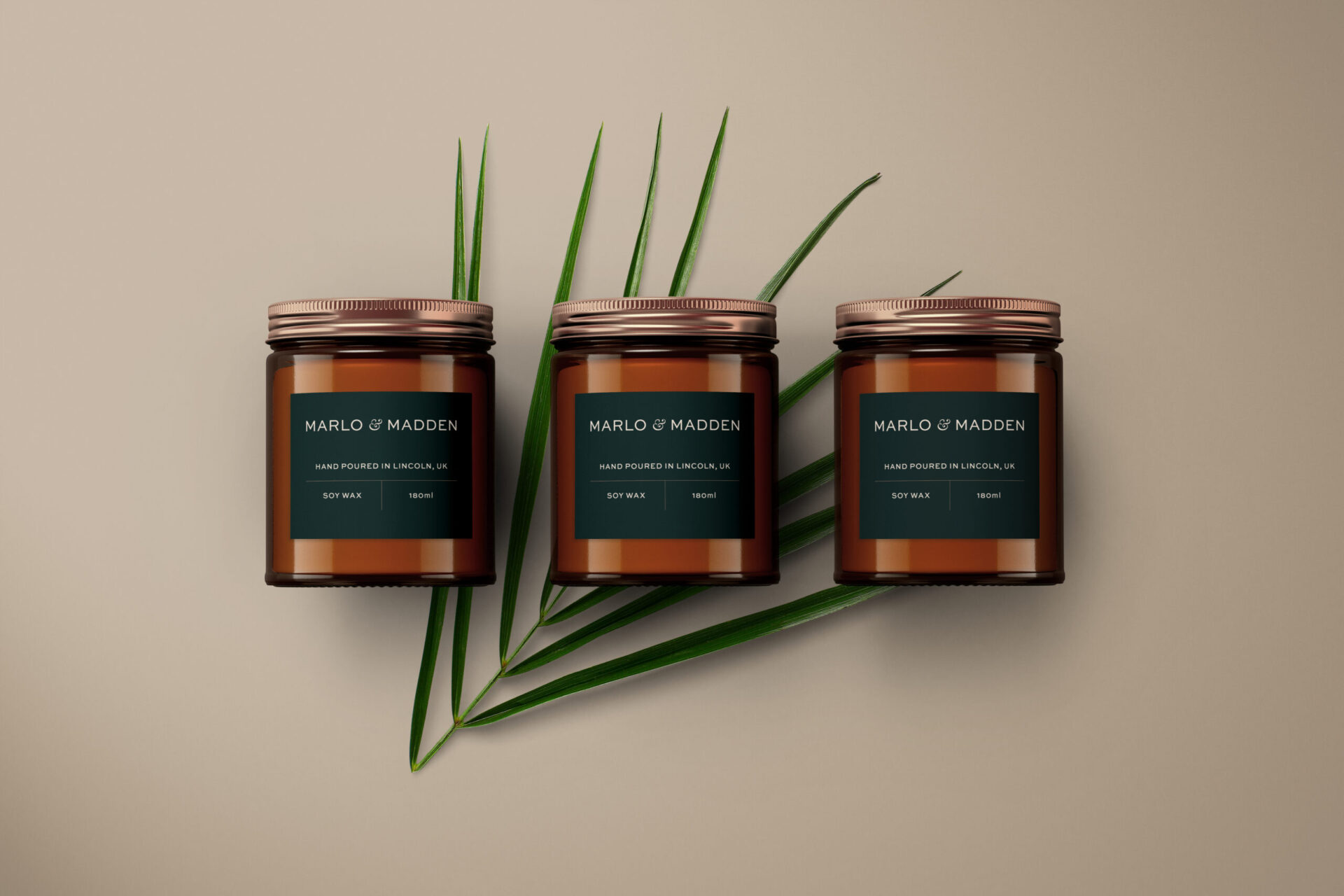 Marlo & Madden packaging design work