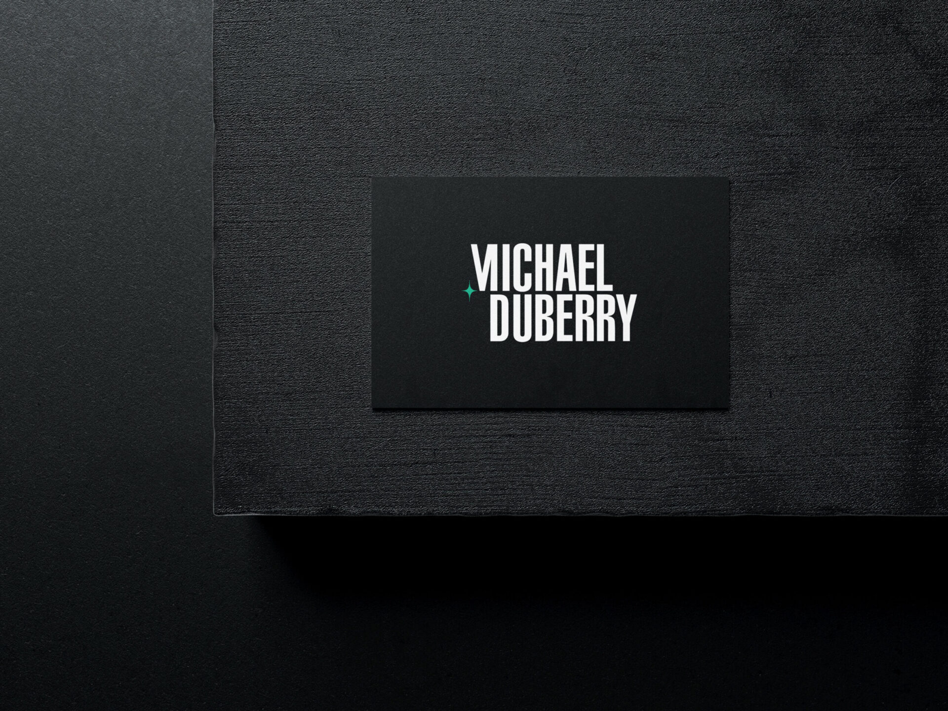 Michael Duberry – Business Card
