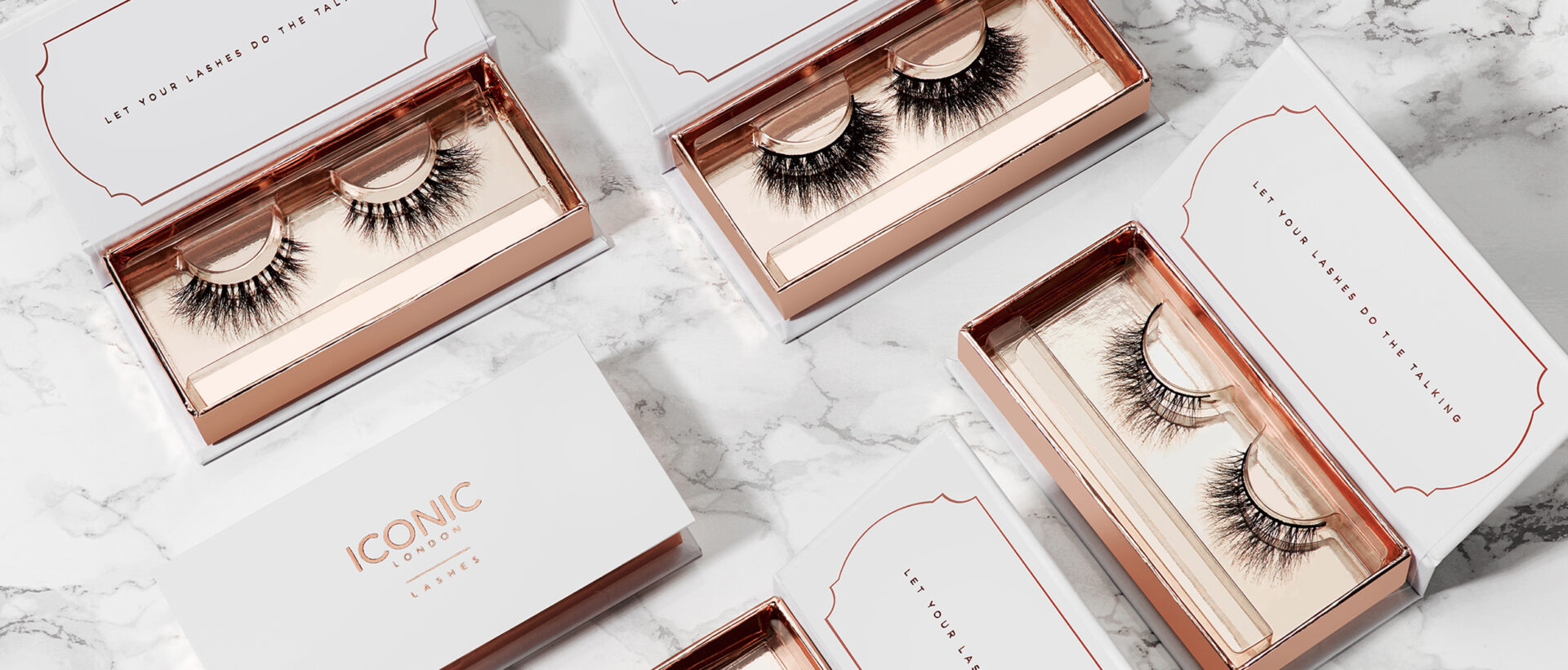 Iconic London – Packaging Design – False Eyelashes