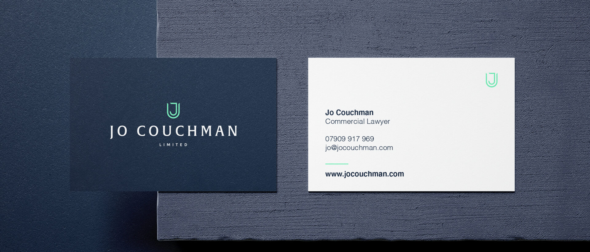 Jo Couchman business cards