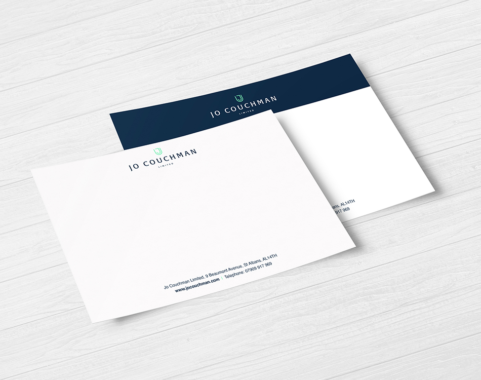 Jo Couchman branded stationary