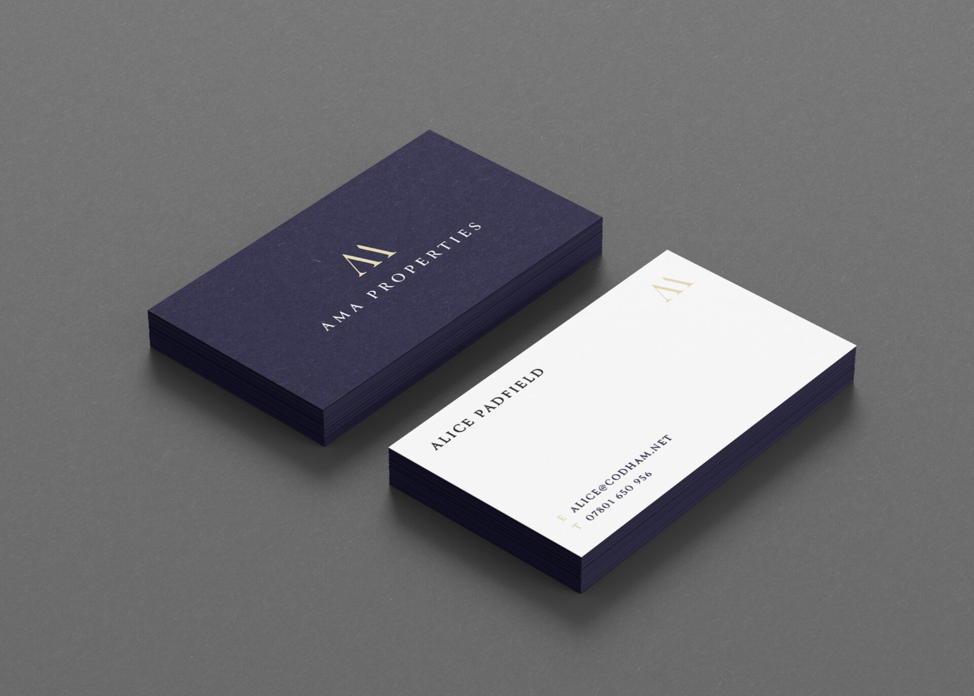 AMA PROPERTIES – Business Card