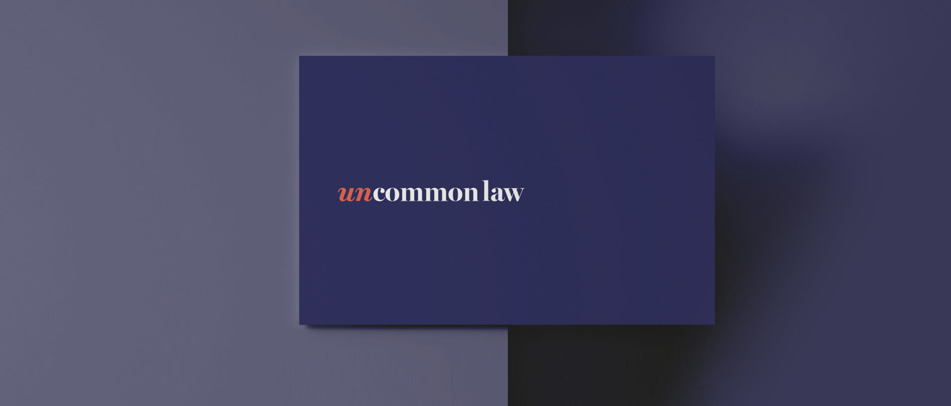 Uncommon Law – Business Card