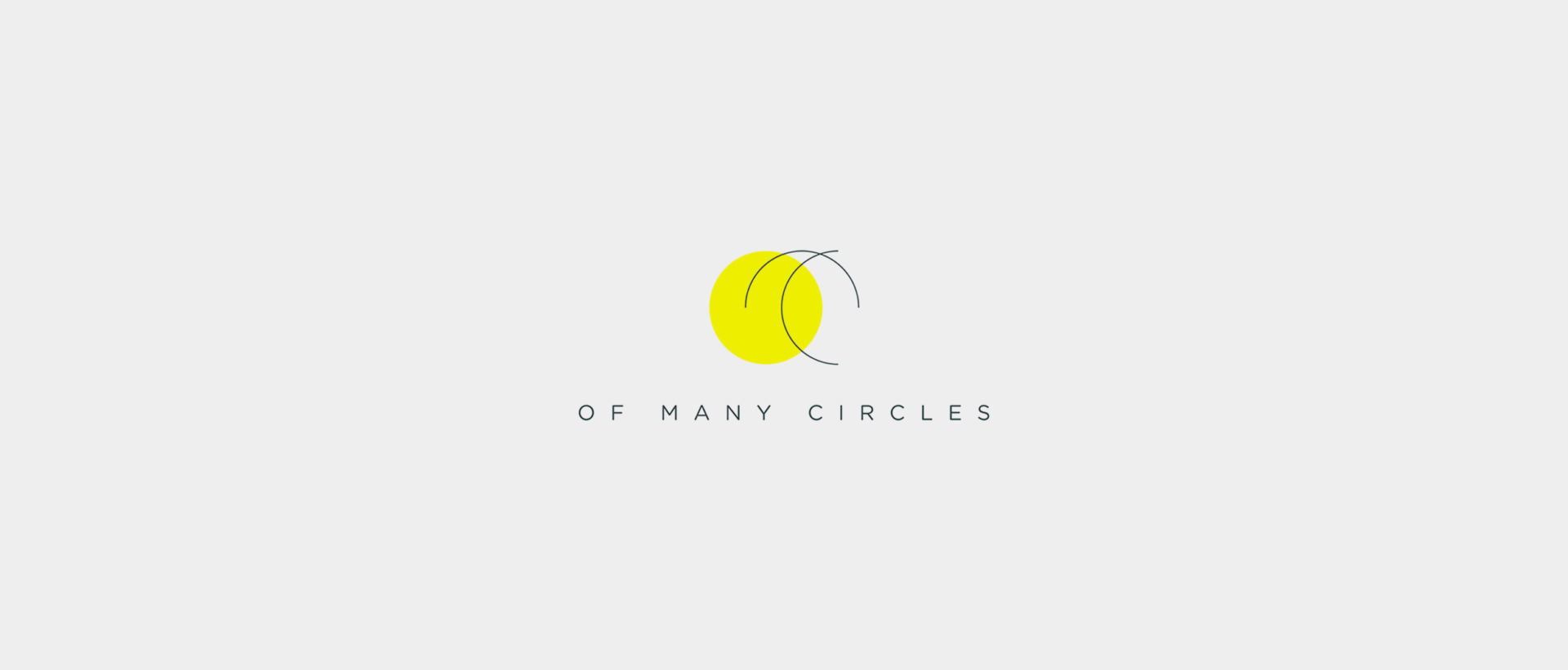 Of Many Circles – Logo Design