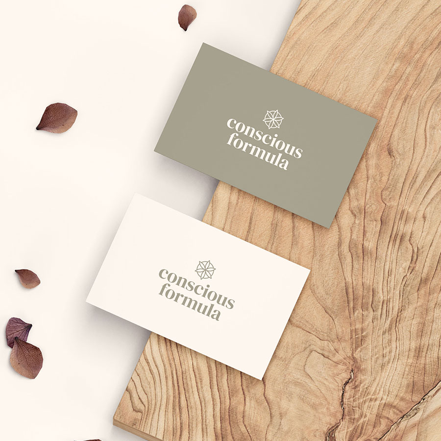 Conscious Formula – Business Card