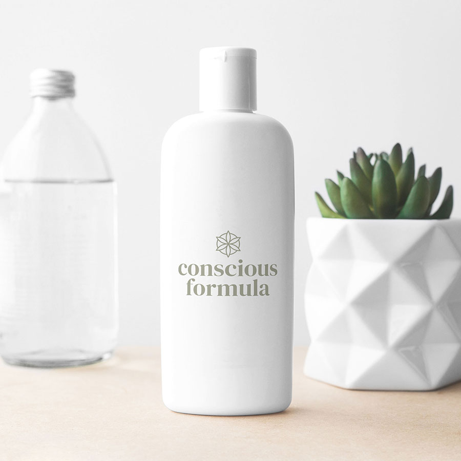 Conscious Formula – Brand Packaging – Bottle