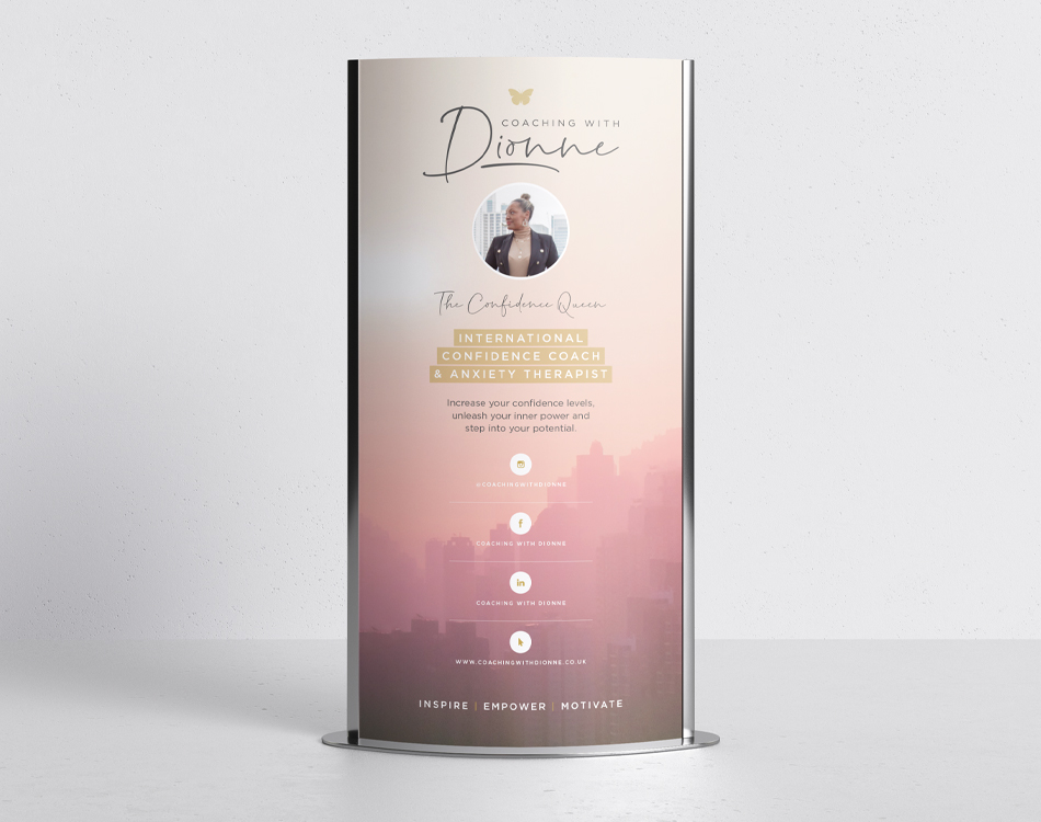 Coaching with Dionne – Banner Design