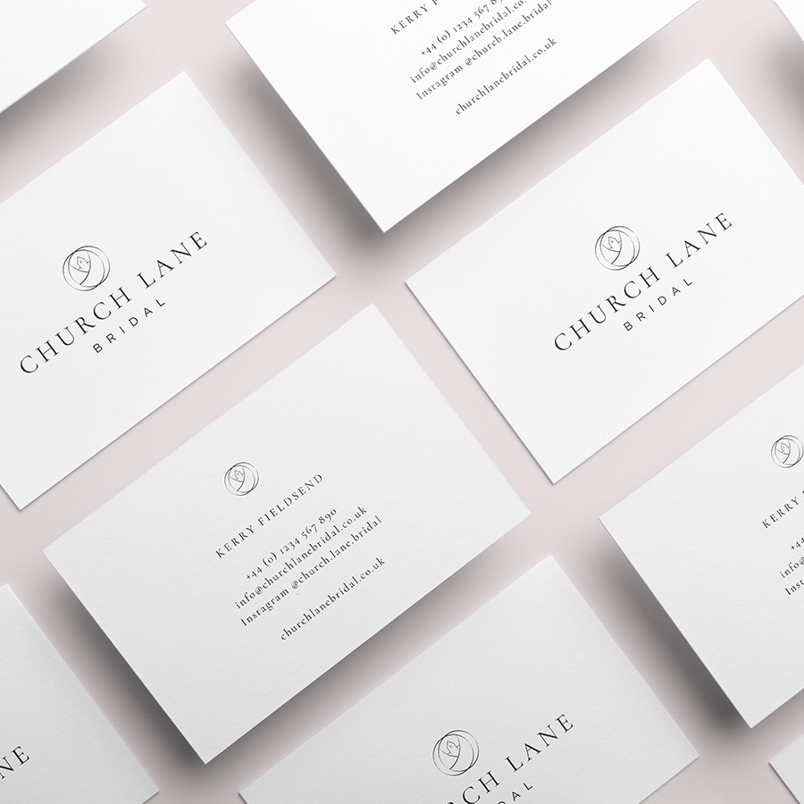 Church Lane Bridal – Business Card