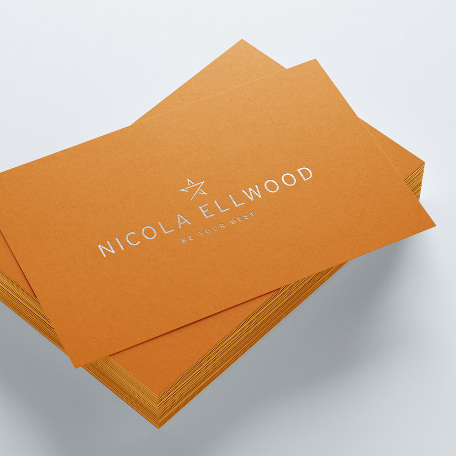 Nicola Ellwood – Business Card