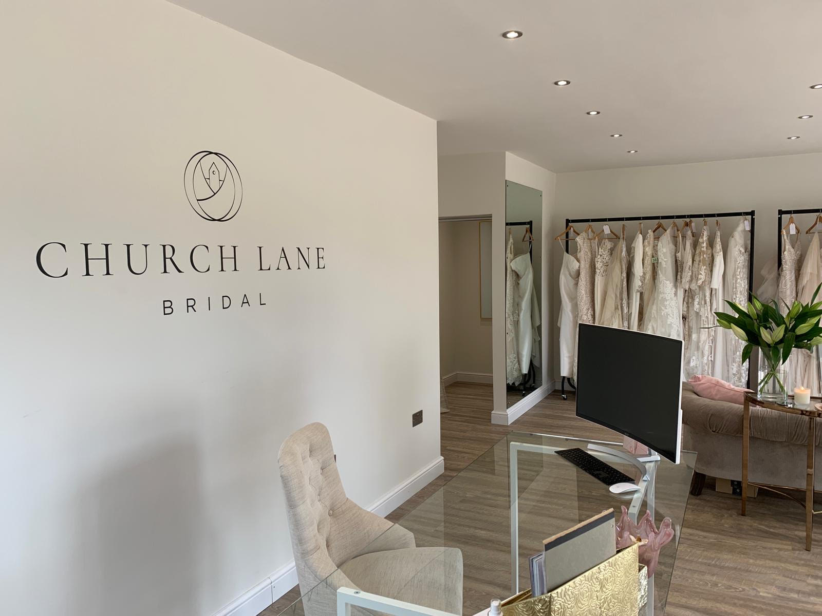 Church Lane Bridal – Signage Design