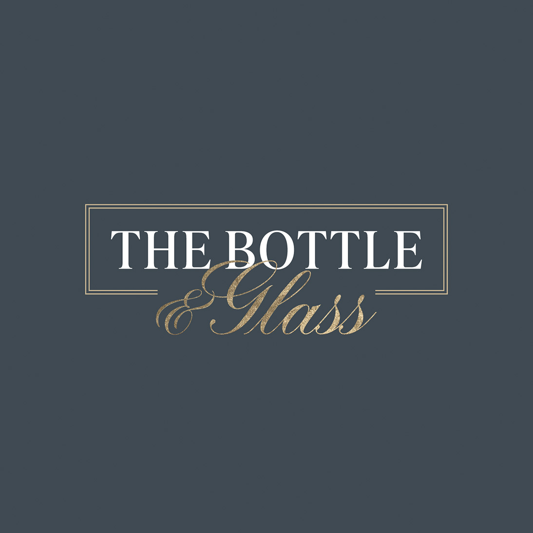 The Bottle and Glass
